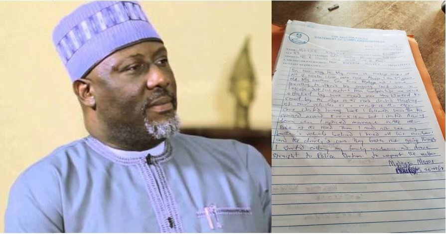Dino Melaye Shares The Statement His Brother Gave To The Police Over His Attack Yesterday