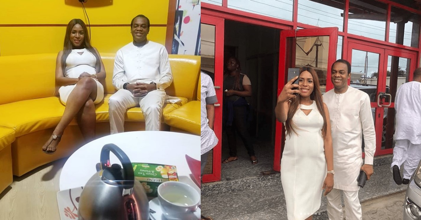 Donald Duke speaks about his visit to Linda Ikeji's office (Photos)