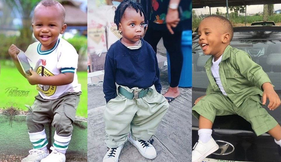 Photos Of Cute Kids Rocking NYSC Uniform Melt Hearts On Social Media