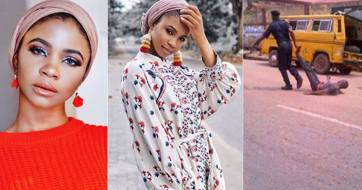 """The reason the EndSars movement had an impact is because 90% of the victims are men"" – Pretty Nigerian lady explain"