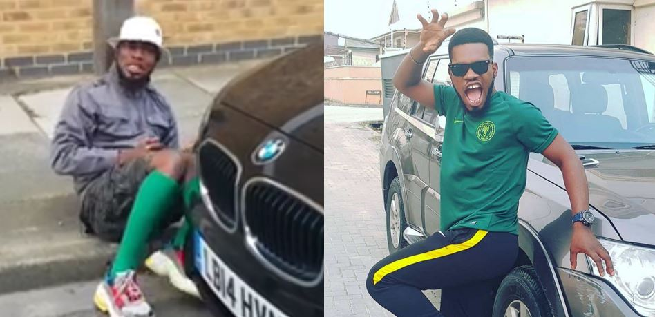 Broda Shaggi Wants To Come Back To Nigeria Because of Cold (Video)