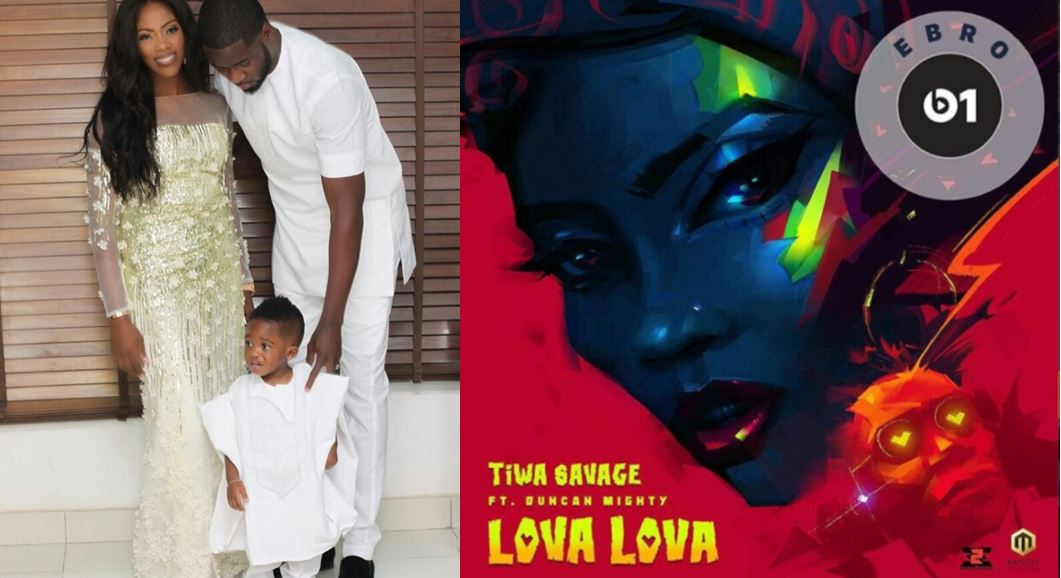 Tiwa Savage's Ex-Husband Promotes Her New Song On His Instagram Page Despite Divorce