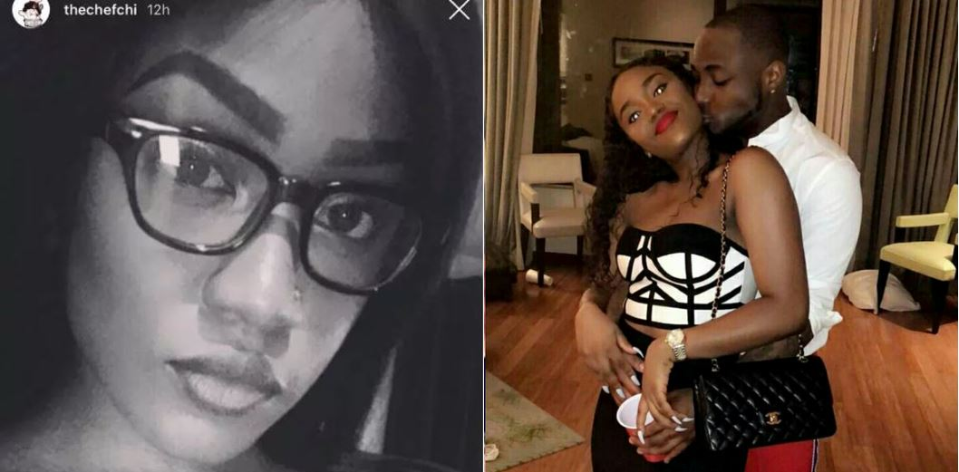 Photos of Chioma's sister who looks like her surfaces online