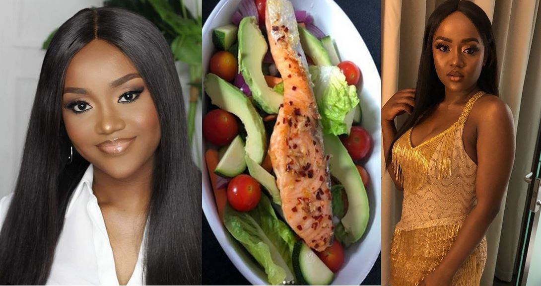 Chioma gives an epic response to a lady who mocked her vegetable salad