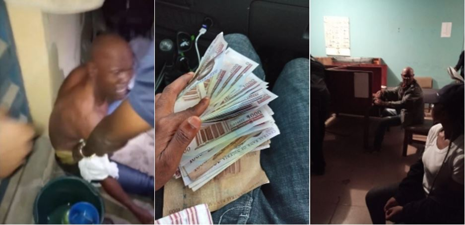 Nigerian police officer arrested for extortion after being set up with marked N120k (Photos/Video)