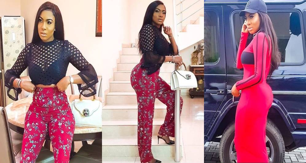 Actress Chika Ike sweetly replies a lady who asked if she had butt/hips implants