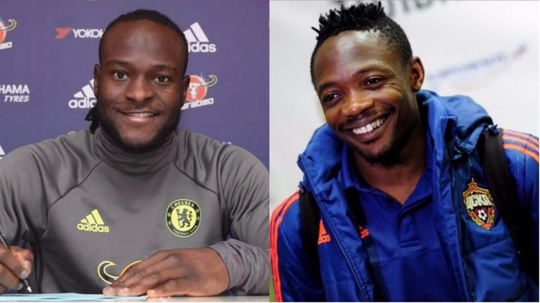 Striker Ahmed Musa reacts to Victor Moses' retirement from Super Eagles