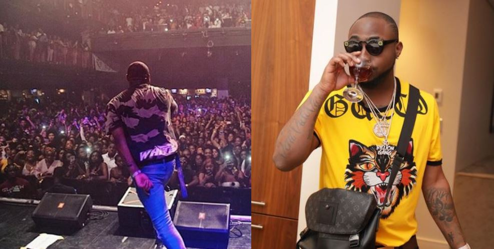 Locked Up US Tour: Davido Sells Out Concert At Irving Plaza In New York, US
