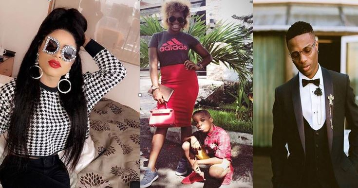 'Look for ways to beg Wizkid' – Bobrisky rubbishes Wizkid first baby mama, Shola