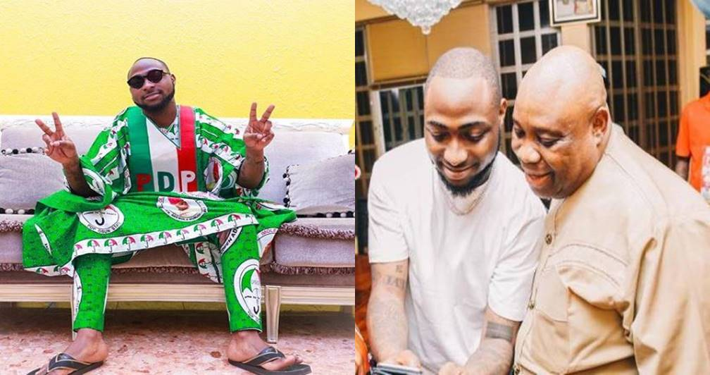Davido finally reacts after APC defeated PDP in Osun state
