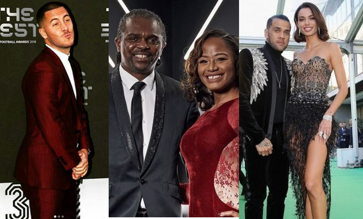 Green carpet photos from FIFA Football Awards 2018, how your favourite footballers dressed