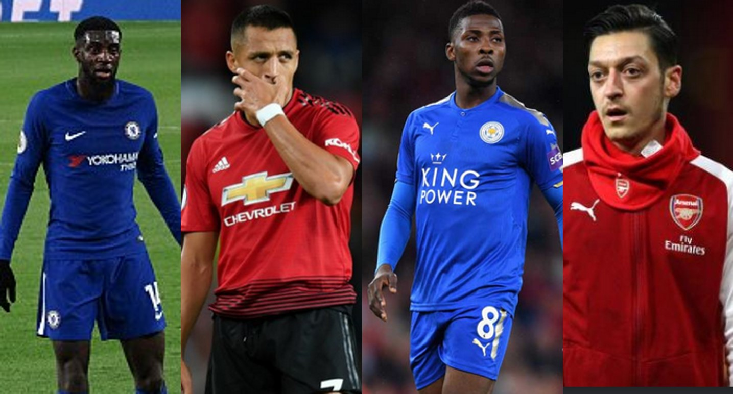 "Alexis Sanchez, Iheanacho, Ozil included in ""The Worst"" XI Spoof Awards (Full squad)"