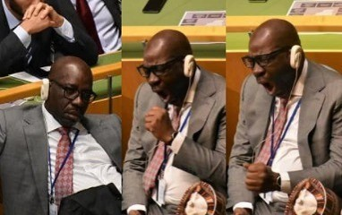 Government reveals why Edo state governor, Obaseki slept at UN conference