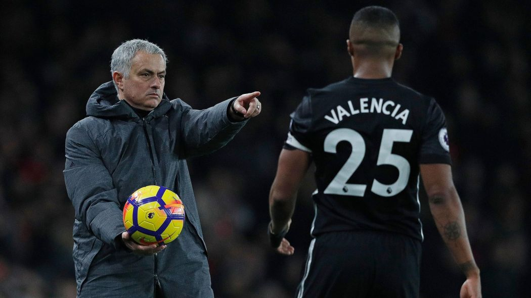 Manchester United captain, Antonio Valencia apologises for liking an Instagram post calling for the sack of Jose Mourinho