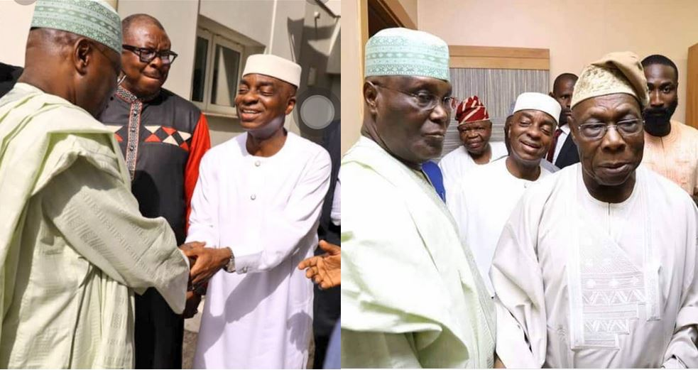 Nigerians react as Oyedepo joins Atiku, Obasanjo, an Islamic cleric and others in a closed door meeting