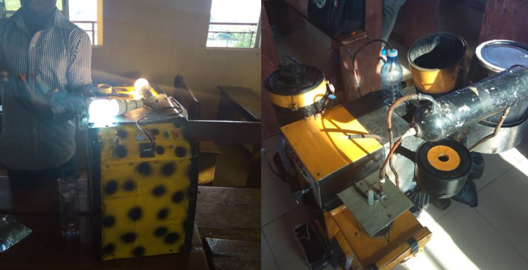 Nigerian Village School Children Builds A Generator That Runs On Water (Photos)