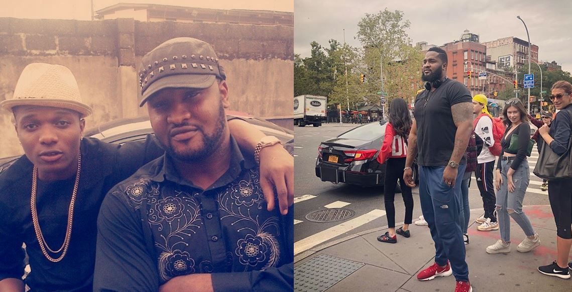 Wizkid's Personal Bodyguard, Roy, Heaps Praises On Him For Making Him Joyful