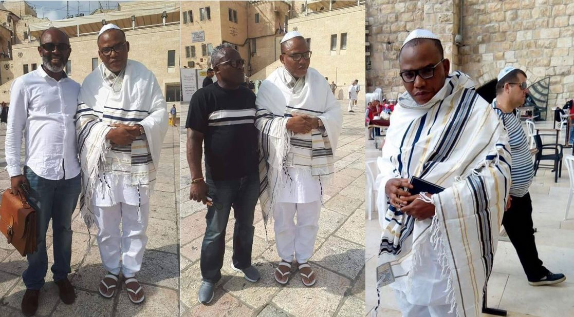 Nnamdi Kanu's younger brother reacts to his brother's sudden re-appearance in Jerusalem