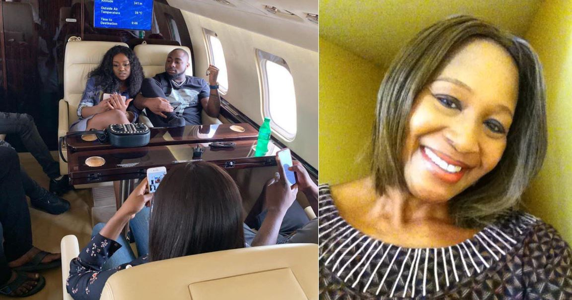 Davido and Kemi Olunloyo at each other's throat on Twitter, she insists that Davido impregnated another girl