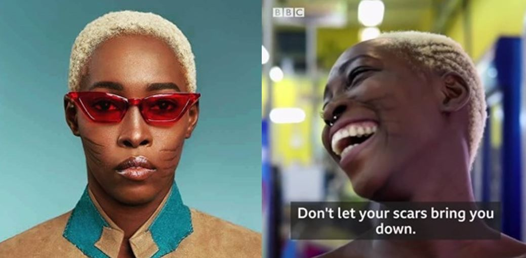 Nigerian Model With Tribal Mark, Adetutu Alabi, Who Wants To Model For Rihanna, Gets Featured On BBC (Video)