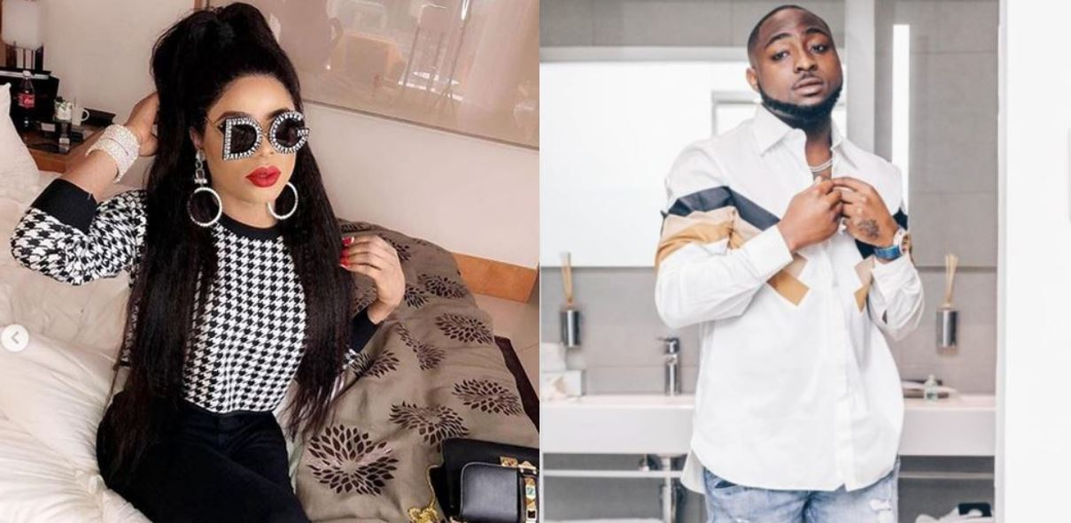 Bobrisky narrates how he dreamt about Davido last night