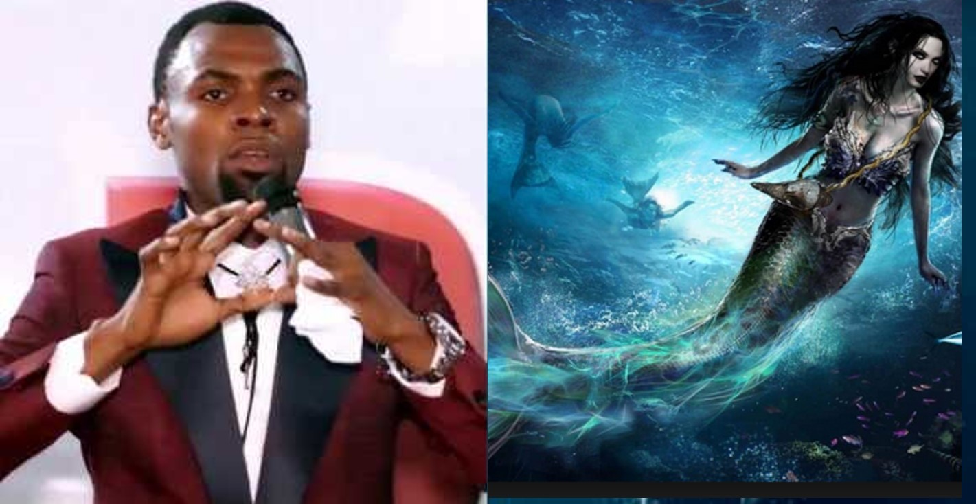 Ghanaian pastor claims 'God' led his spirit to see a 'Mermaid'