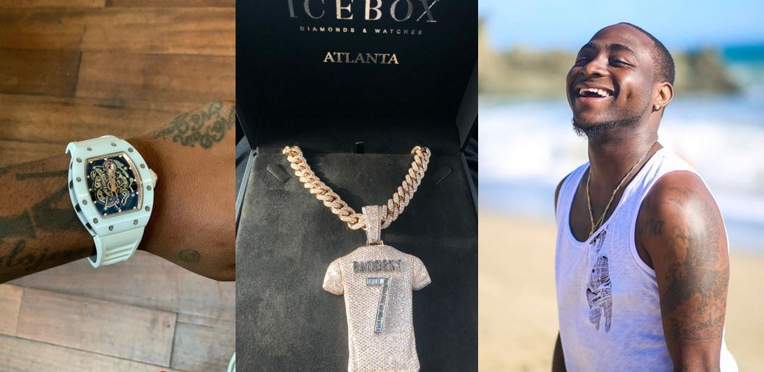 Davido Shows Off Luxurious Early Birthday Gifts He Received (Photos)
