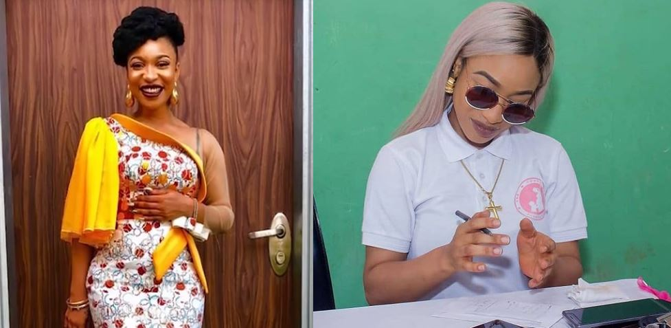 I'd never allow my son call anyone who isn't family Uncle or Aunty — Actress Tonto Dikeh says