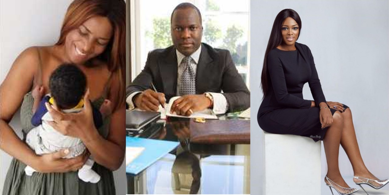 Linda Ikeji's baby daddy allegedly rejects her and her baby, sticks with Elohor