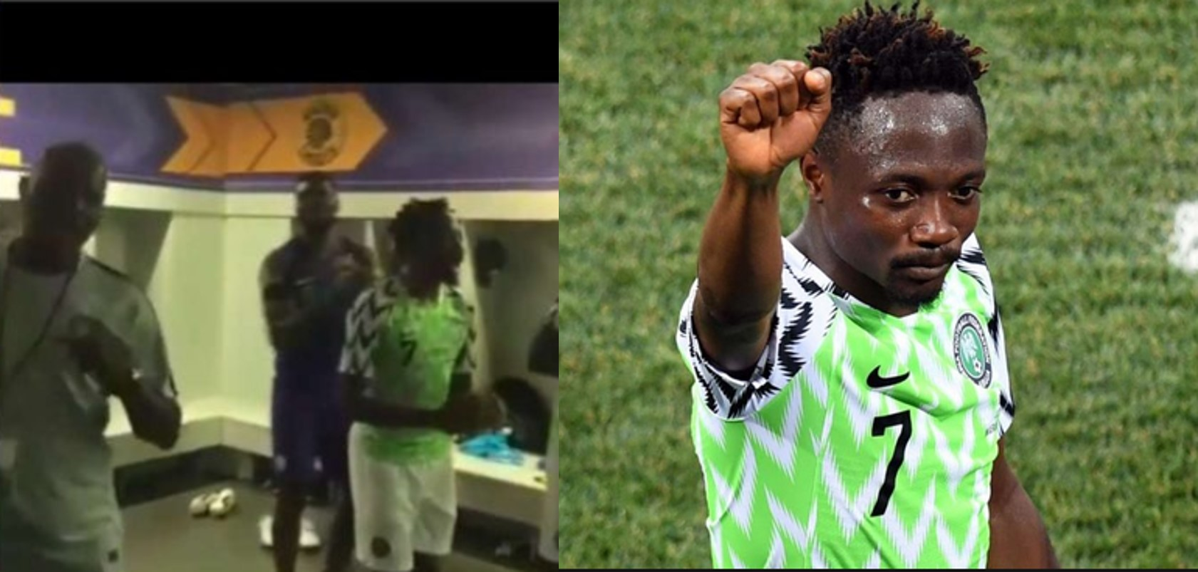 Ahmed Musa blasts Muslim fan who called him out for dancing to Christian song as Super Eagles celebrated 2019 AFCON qualification