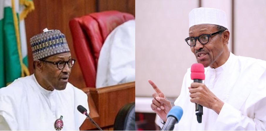 Lawmakers Boo President Buhari, Shout 'No!' As He Lists His Achievements As President (Full Breakdown Of 2019 Budget Presented By President Buhari)