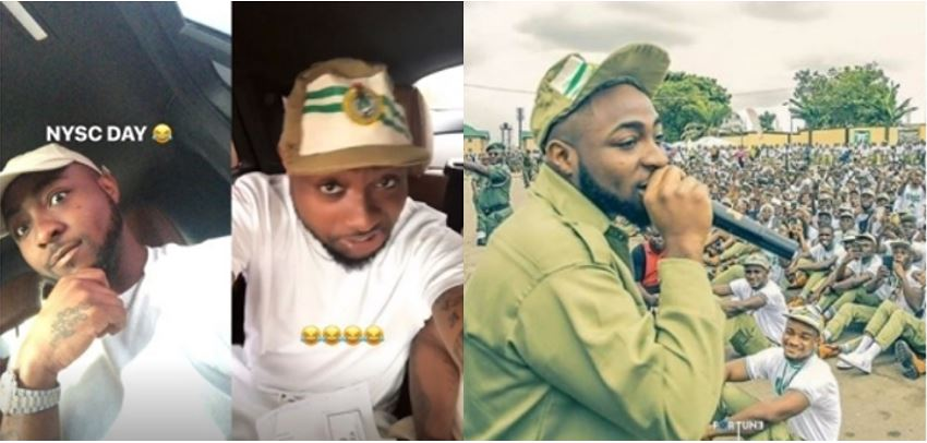 NYSC cancelled my service – Davido reveals