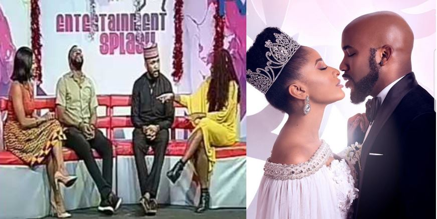 """""""Your Wife is always right"""" – Banky W says as he gives out marital advise (Video)"""