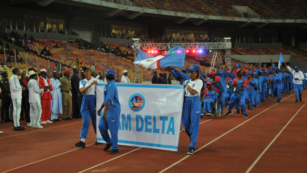 Delta state wins National Sports Festival with 352 medals (Full medals table)