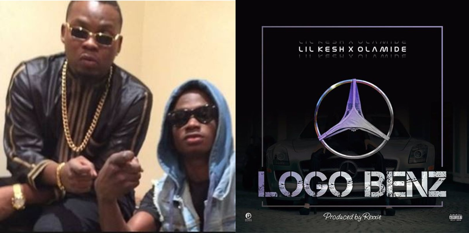 Olamide speaks out after Nigerians blasted him and Lil Kesh over the lyrics of their new song, 'Logo Benz'