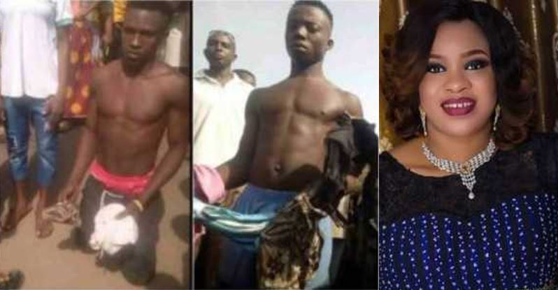 Don't just dispose your old pants anyhow, cut them into shreds –  Mosun Filani advises ladies