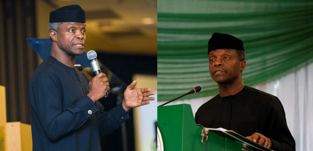 Osinbajo reveals the people to be jailed by Buhari