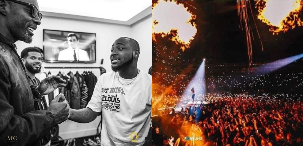 Davido joins Drake, Beyonce, Rihanna, Kanye West, Elton John on the list of artistes who have sold out the O2 Arena in London as headliners