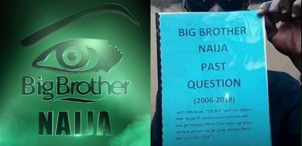 Big Brother Naija Past Questions Now Being Sold In Traffic