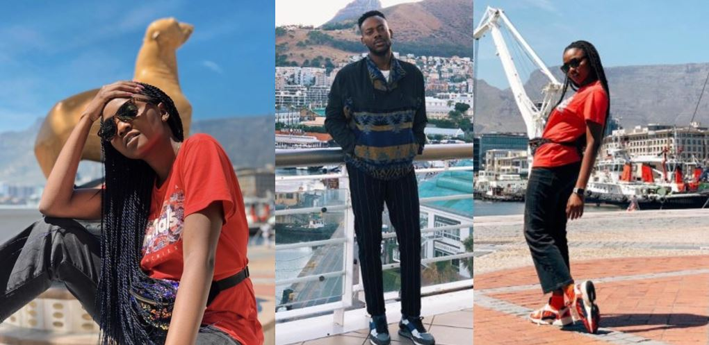 Simi and Adekunle Gold honeymoon in Cape Town, South Africa (photos)