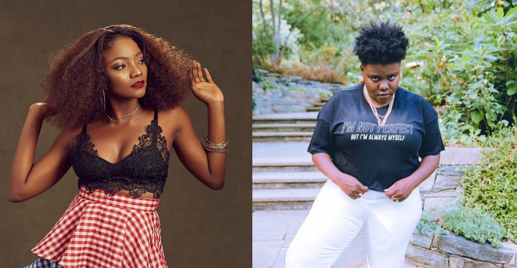Simi replies a fan who tried to compare her with Teni
