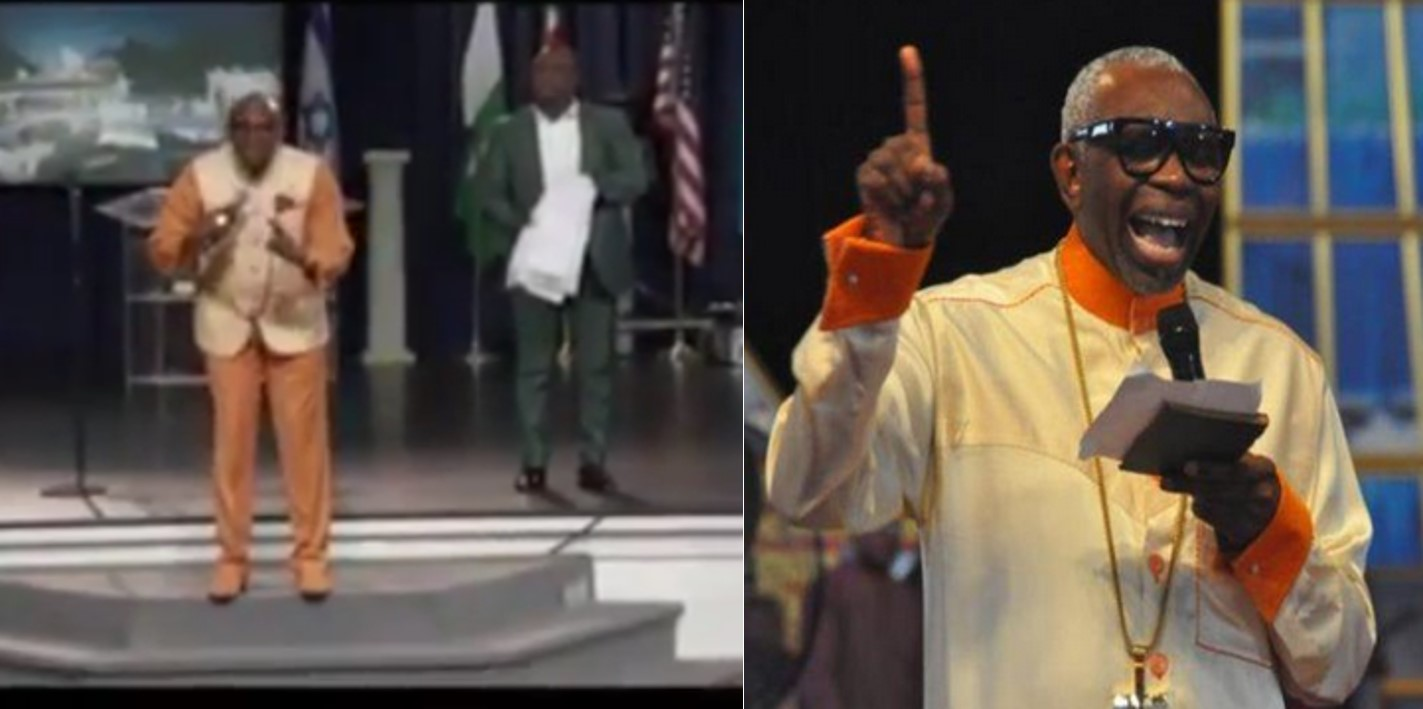 Pastor Ayo Oritsejafor called out for asking 90 members  of a church in US to pay $5,000 each for a mantle (Video)