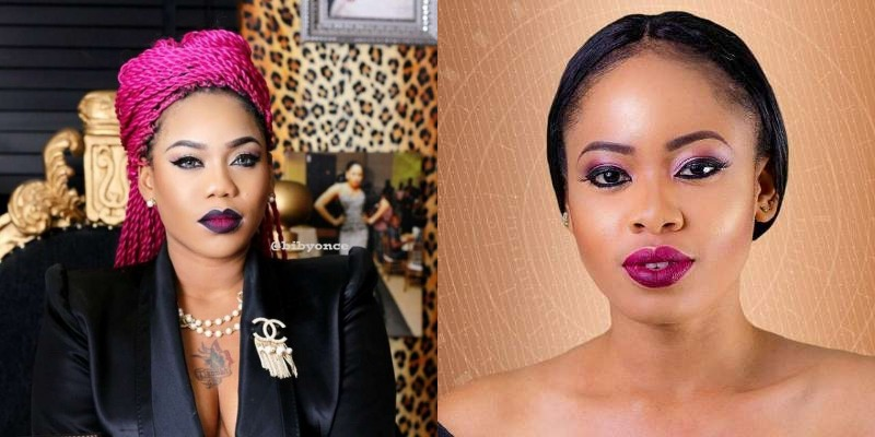 Toyin Lawani blasts Nina, calls her a b*tch for backbiting her
