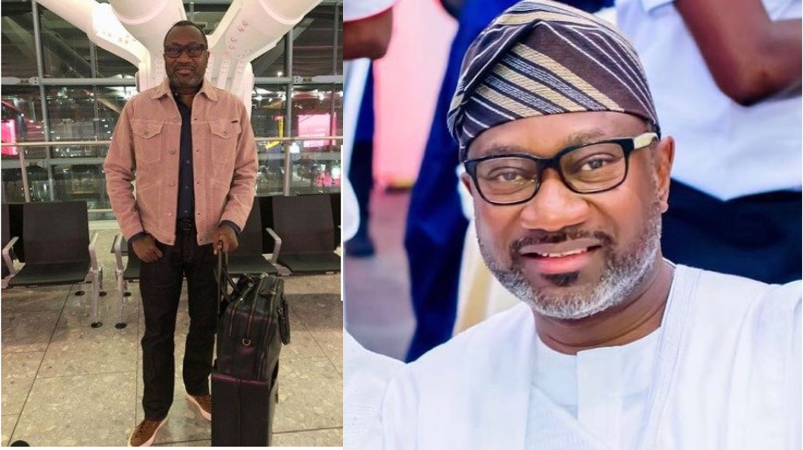 Femi Otedola replies a follower who commented on his 'simple' outfit on IG