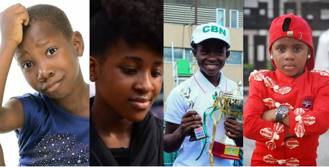 10 richest kids in Nigeria