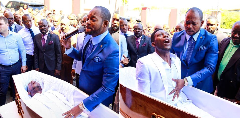 Pastor Alph Lukau who 'resurrected' a man in viral video confesses the truth