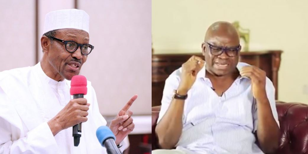 Fayose and Reno Omokri react to Buhari saying he was elected into office in 2005