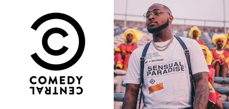 Davido becomes the first Nigerian to feature on the Comedy Central roast panel
