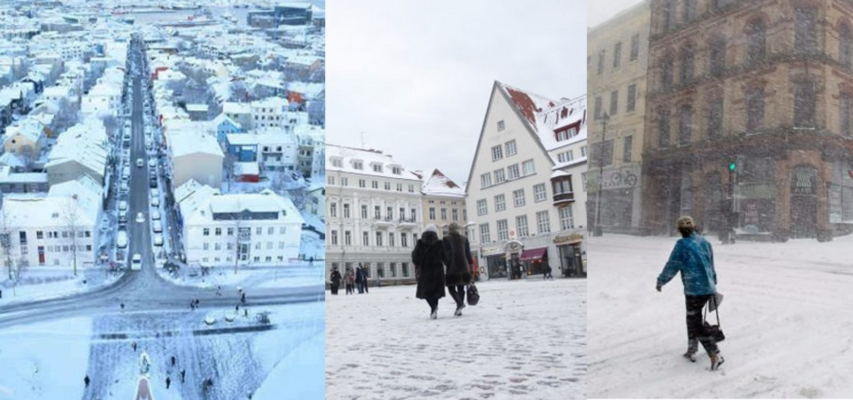 The coldest countries in the world