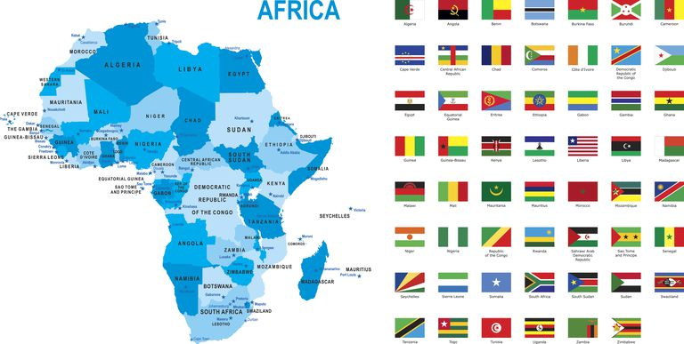 List of African Countries, Capitals and their Population